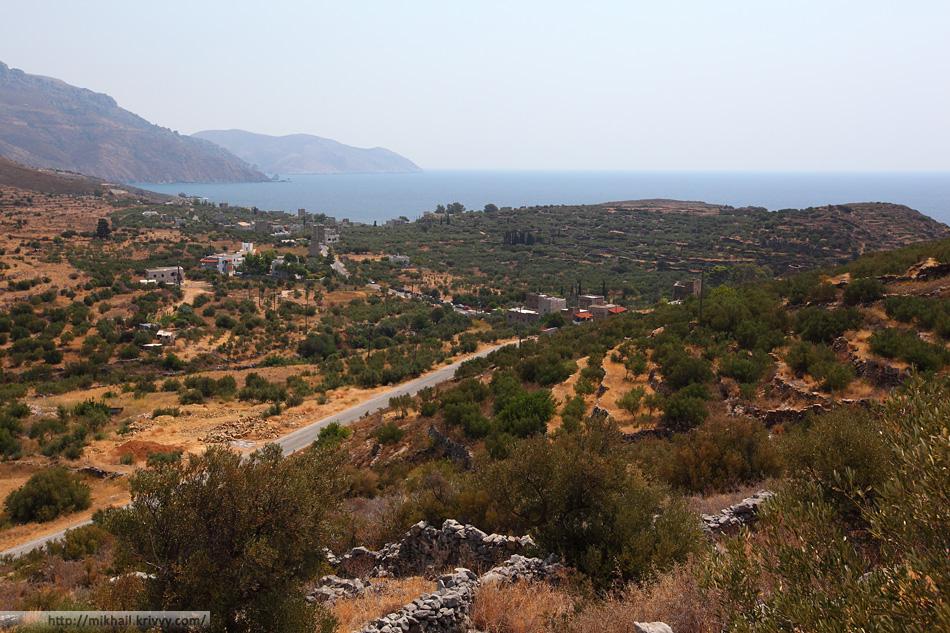 Кипариссос (Kiparissos). Полуостров Мани. Греция.