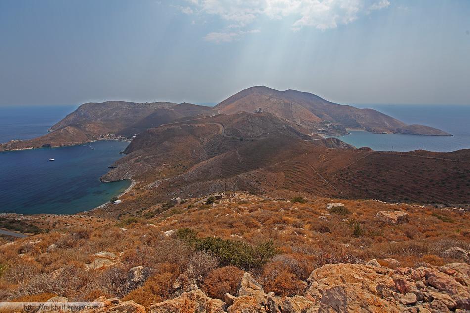 Самый южный край континентальной Европы. Полуостров Мани. Греция.