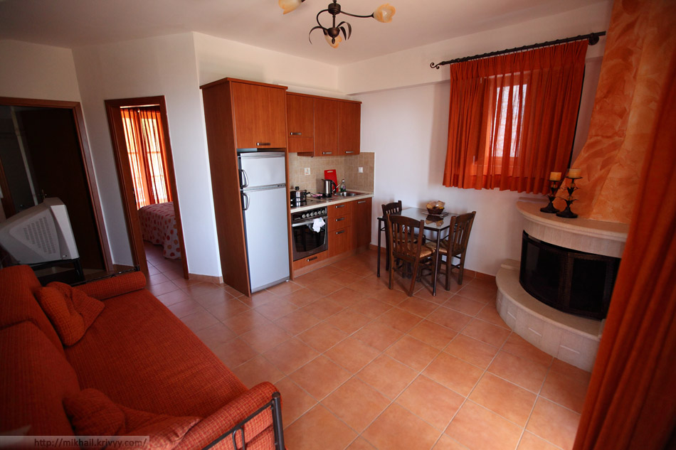 Апартаменты Aris Studios- Apartments.
