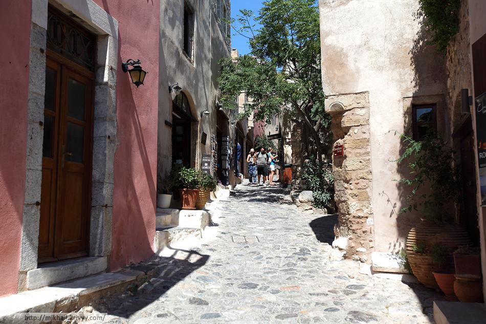 Главная улица. Монемвасия (Monemvasia), Греция.