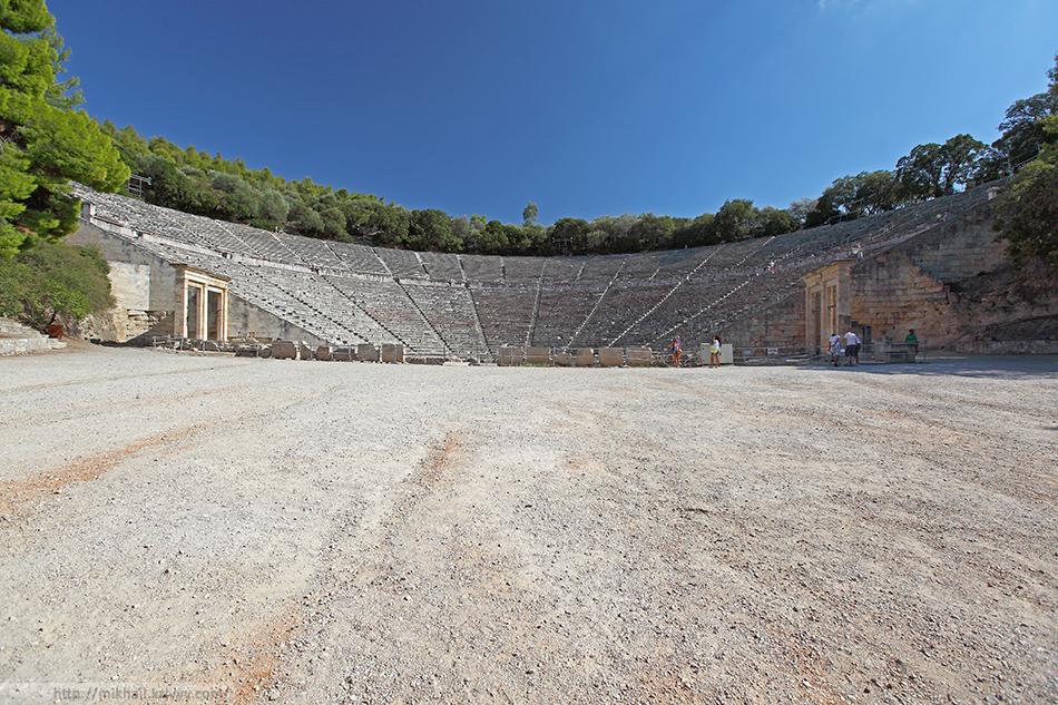 Театр в Эпидавре.