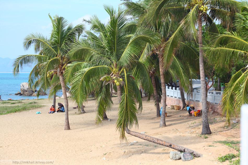 """Пляж в восточной части парка """"Край света"""". Эта часть не особо популярна у посетителей."""