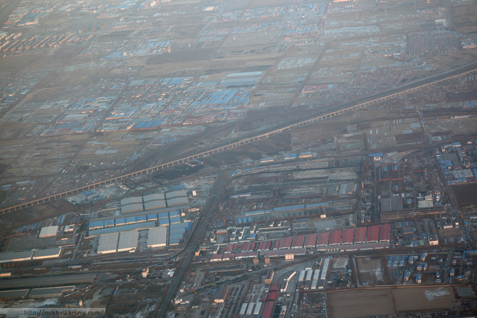 Пекин через иллюминатор.
