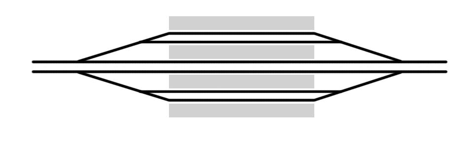 Схема станции ХайКоуДонг.