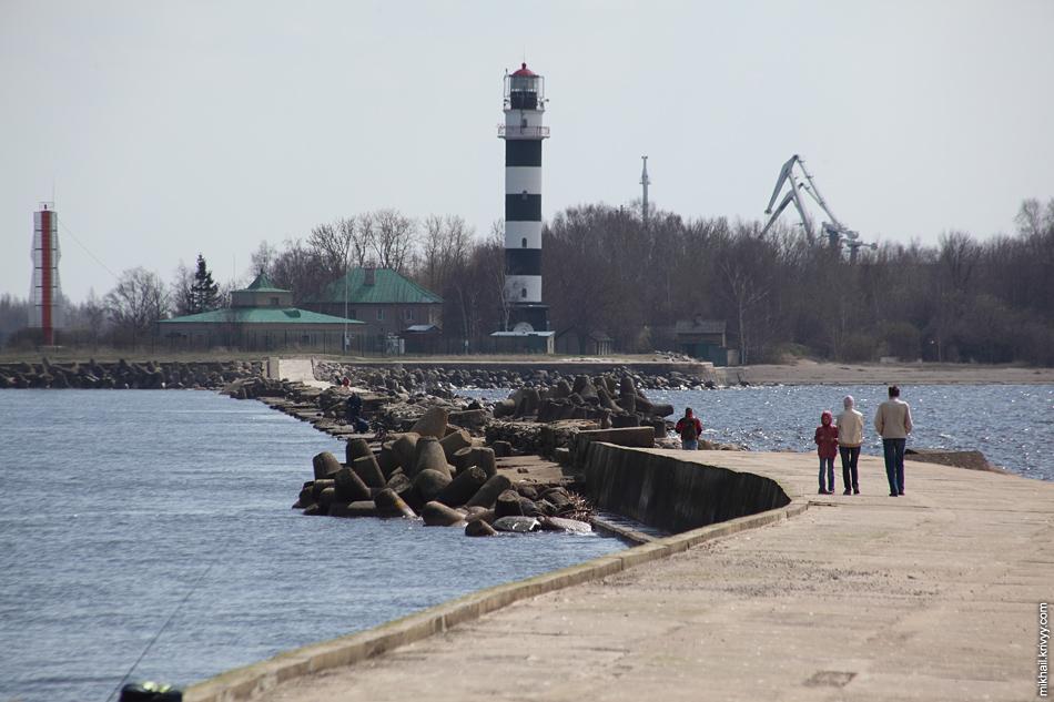 Даугавгривский маяк.