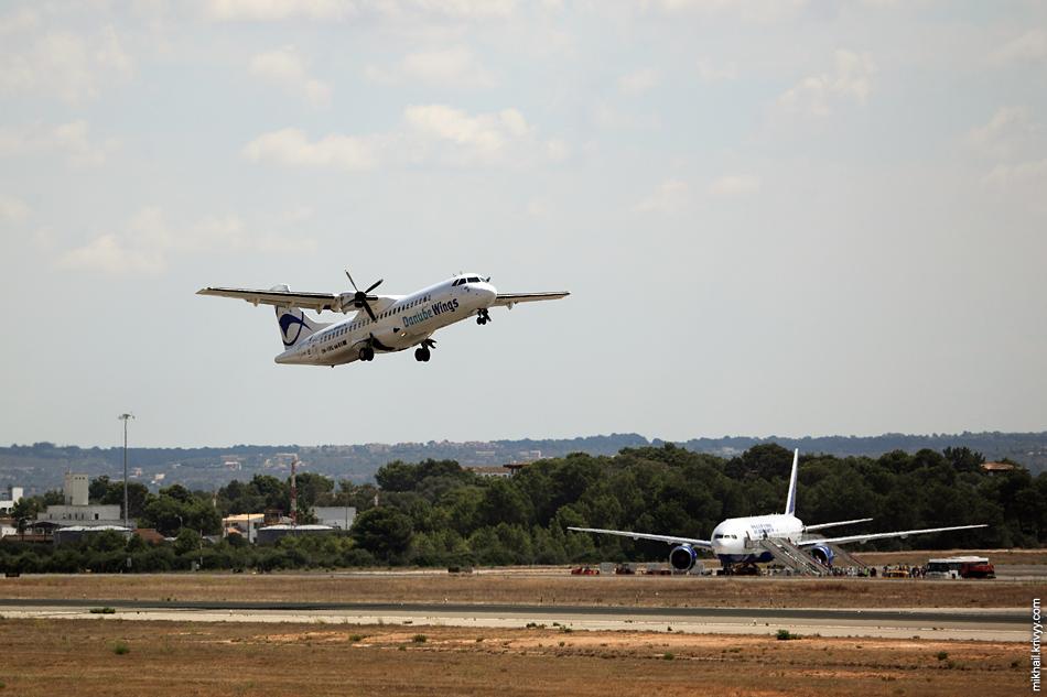 12:57, ATR 72-202 OM-VRD, Danube Wings (Словакия). Palma de Mallorca (PMI) - Bratislava (BTS)