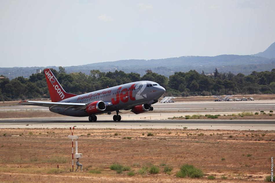 13:01, Boeing 737-330 G-CELP, Jet2. Рейс ZB958, Palma de Mallorca (PMI) - Edinburgh (EDI)