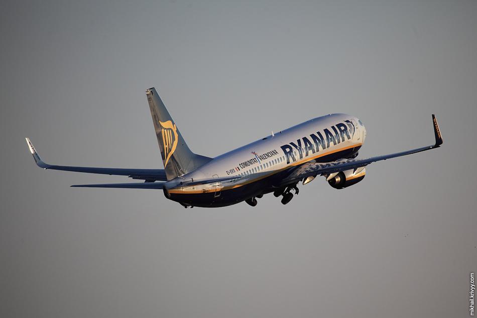 Boeing 737, EI-EKS, Ryanair.