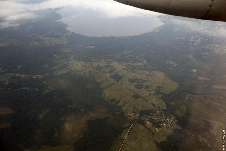 Рель, озеро Самро. Ленинградская область. Высота - 3600 метров.