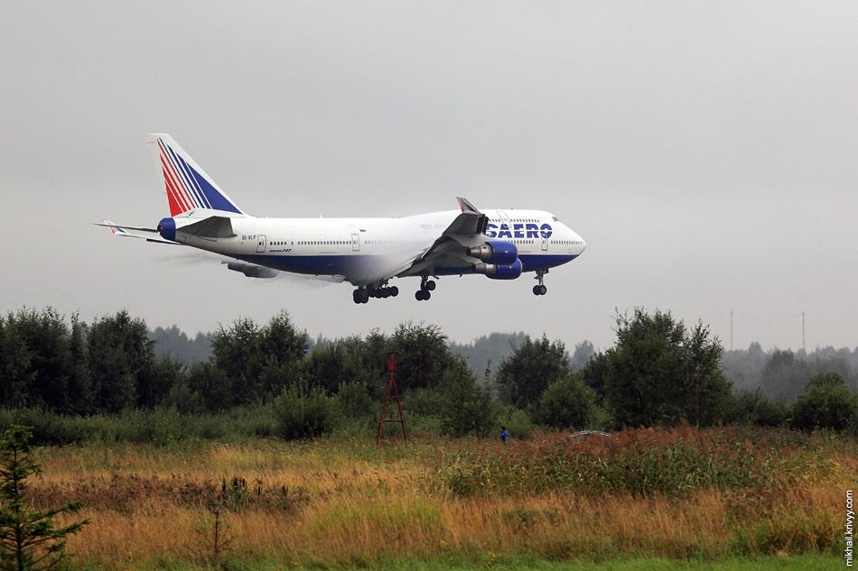 Трансаэро. Boeing 747, EI-XLF.