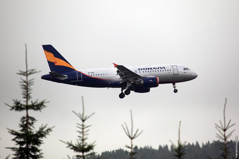 Донавиа. Airbus A319, VQ-BIV.