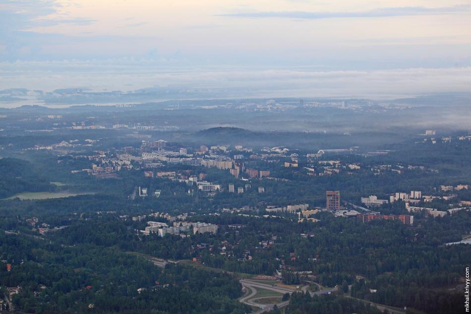 Хельсинки на рассвете.