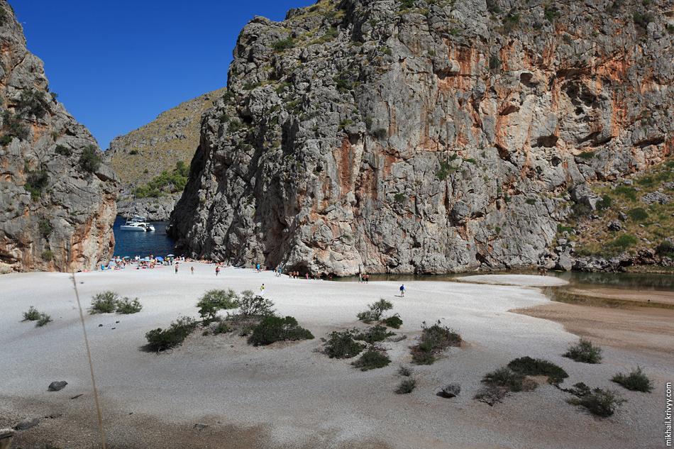Пляж Torrent de Pareis, Са Калобра (Sa Calobra)