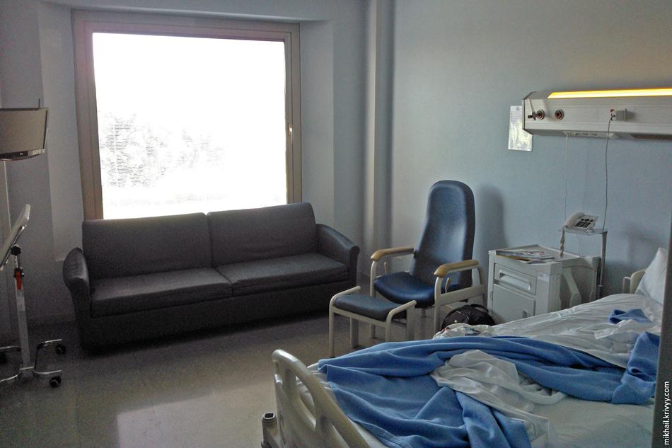 Больничный номер. Вид в обратную сторону.