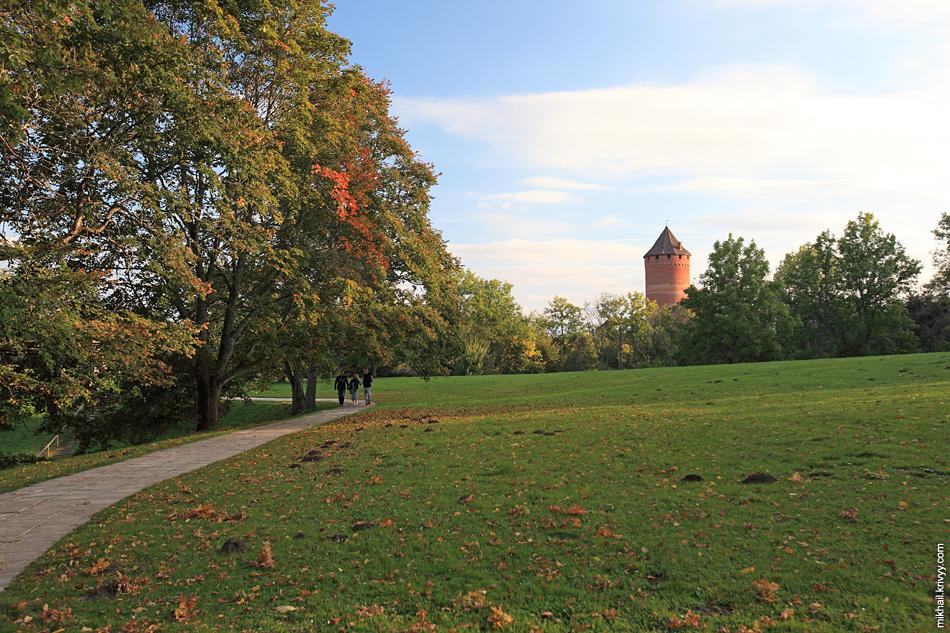 Парк народных песен с 26 скульптурами скульптора Индулиса Ранки. Идеальное место для диск-гольфа :)