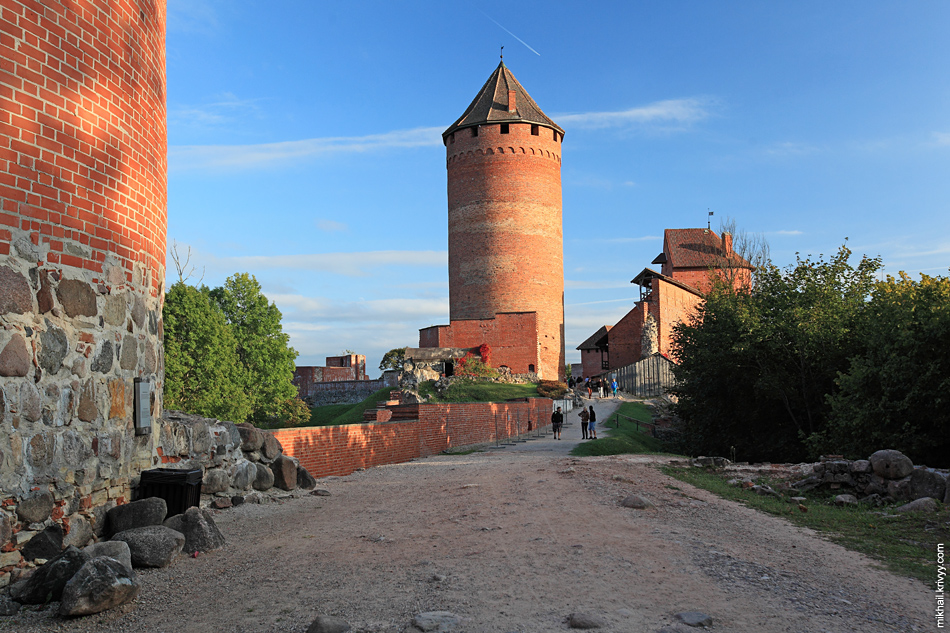 Турайдский замок. Сигулда. Латвия.
