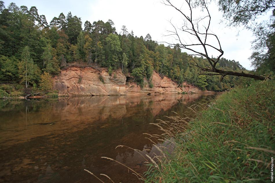Берега реки Гауя.