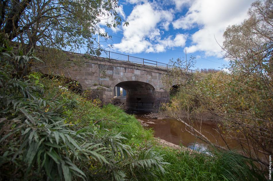 Каменный мост через реку Виточка, забытый объект культурного и исторического наследия.