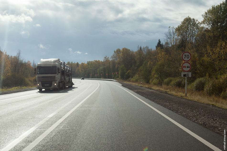Трегубовский путепровод. Новые ограничения скорости.