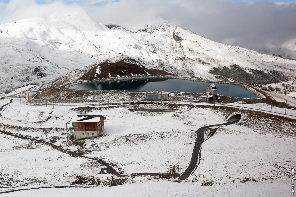 Вид из поезда Юнгфрауйох (Jungfraujoch) - Клайне-Шайдег (Kleine Scheidegg).