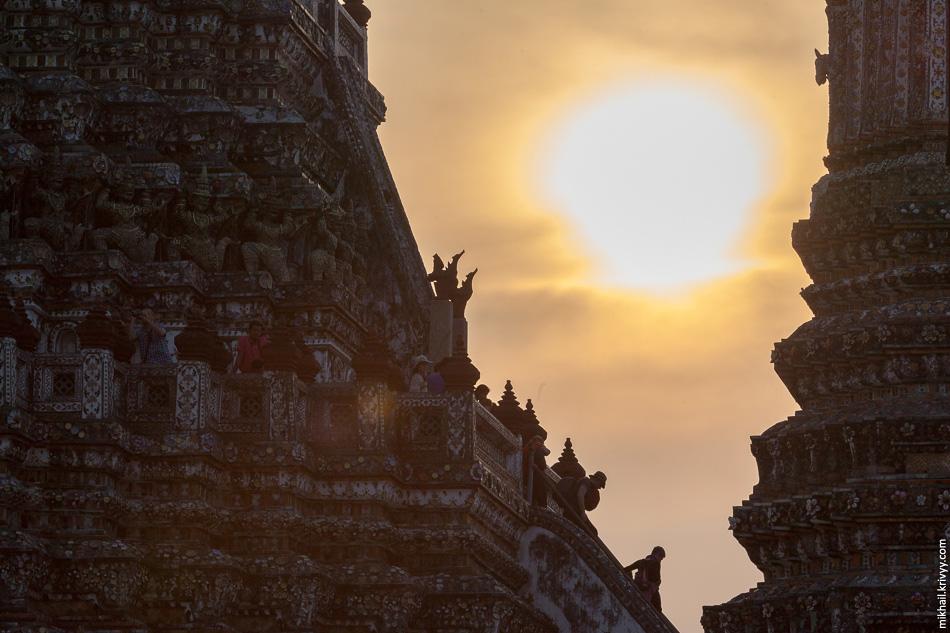 Храм Ват-Арун. Рассвет, закат...какая разница.