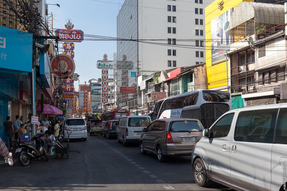 Пробки Чайна-Тауна. Бангкок.