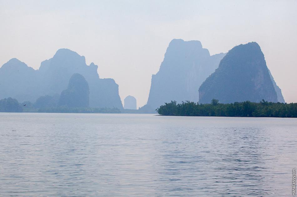Острова залив Пханг Нга (Phang Nga).