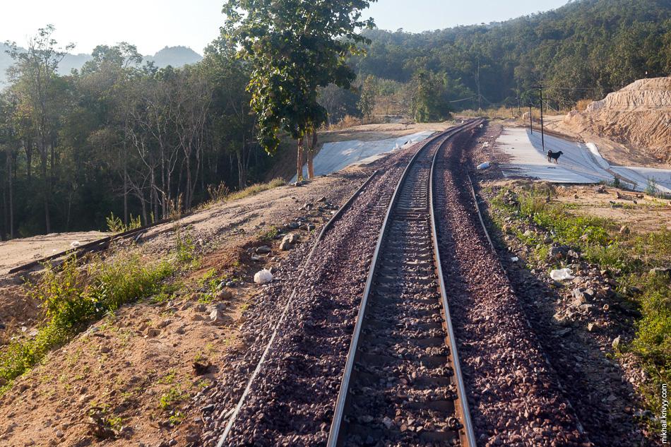 На всем пути хорошо видно что инфраструктура не только содержится, но и модернизируется.