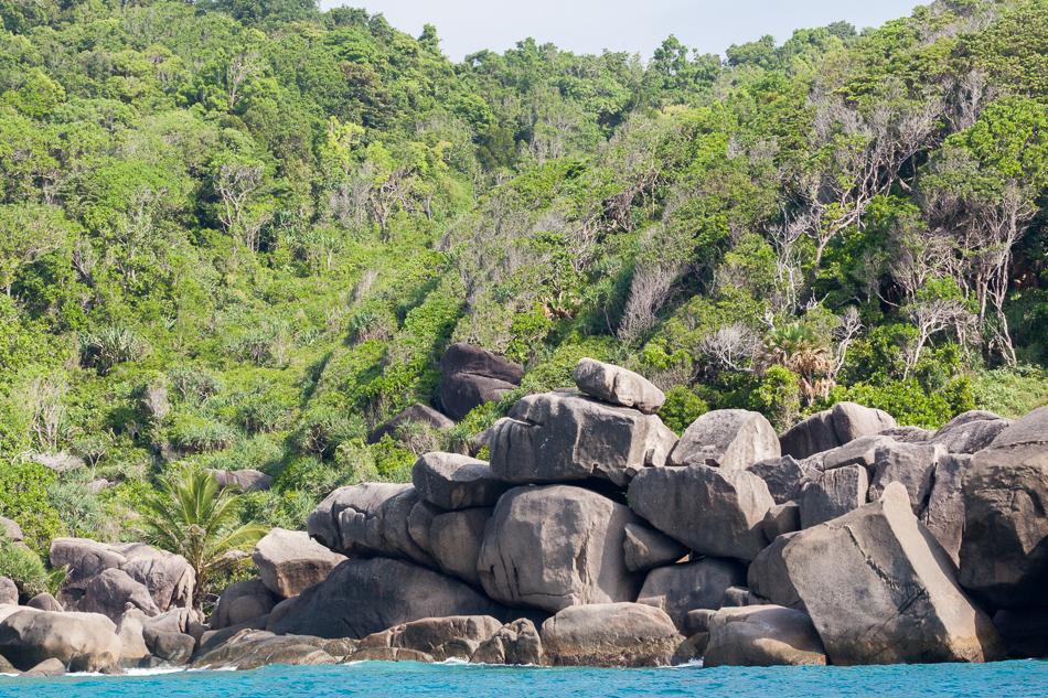 Остров Симилан. Таиланд.