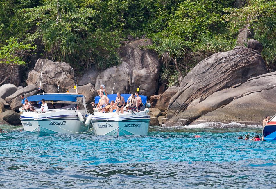 """Смотрите, Черепаха!!!"". Остров Бангу (Ko Bangu). Симиланские острова, Таиланд."