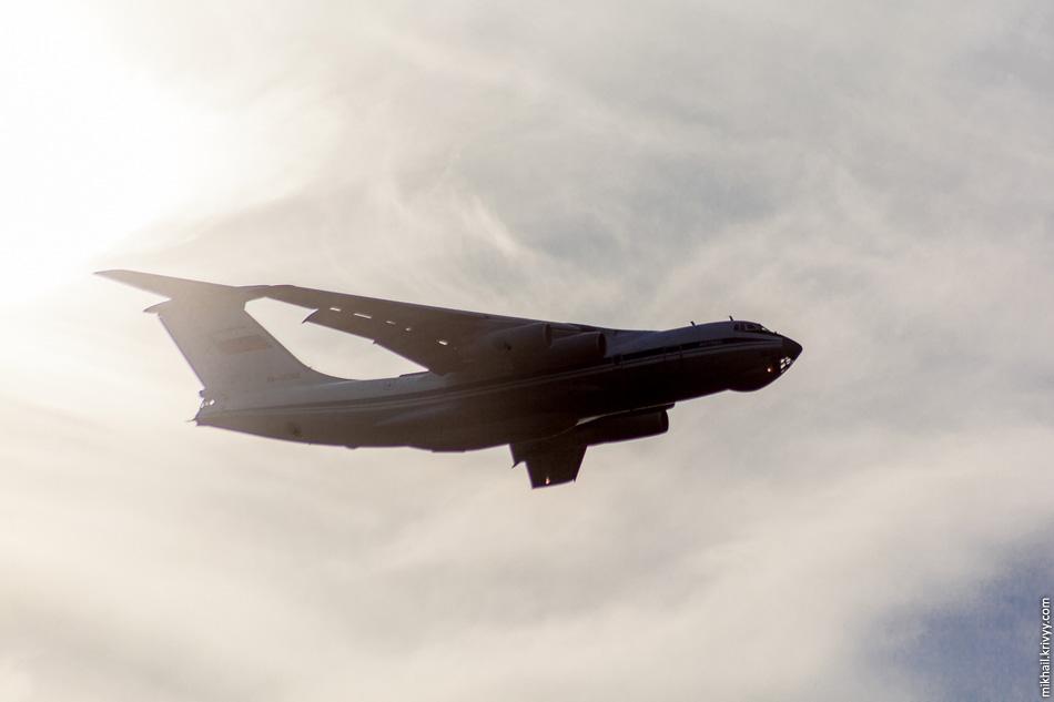 Последний самолет взлетевший с Кречевиц. Лето 2013.