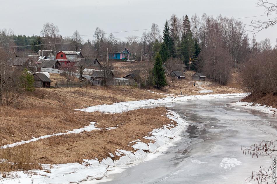 Места там русские-русские. Деревня Марково.