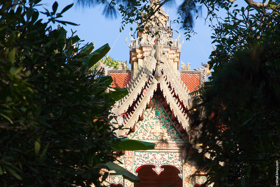 Храм Ват Прахат Дой Cутхеп.