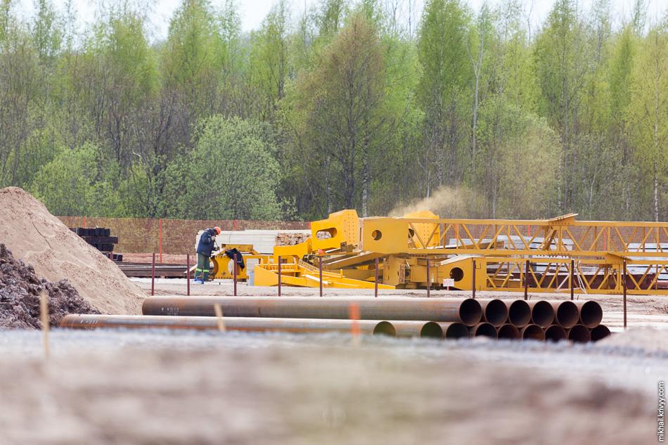 Чистка агрегатов. Что это может быть? Строительство платной автомагистрали М11 Москва - Санкт-Петербург.