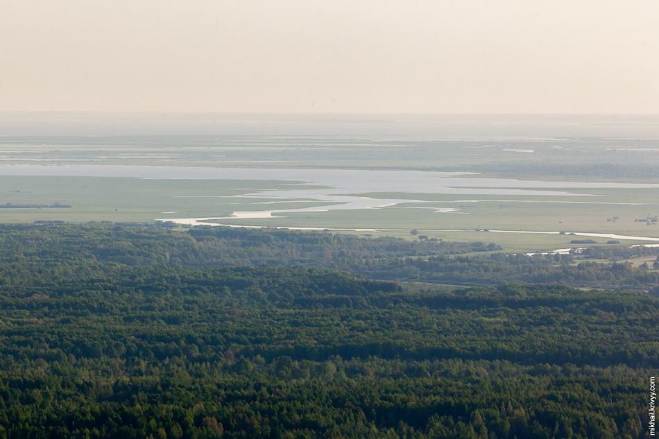 Дельта реки Ловать. Река берёт начало в районе болота Чистик Витебской области Белоруссии.