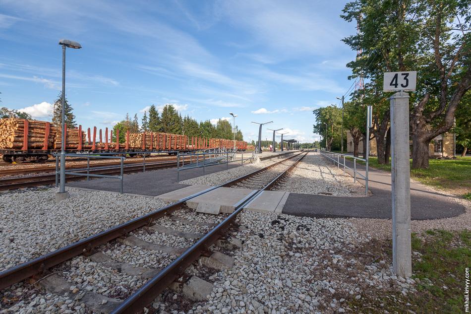Станция Пылва (Põlva).
