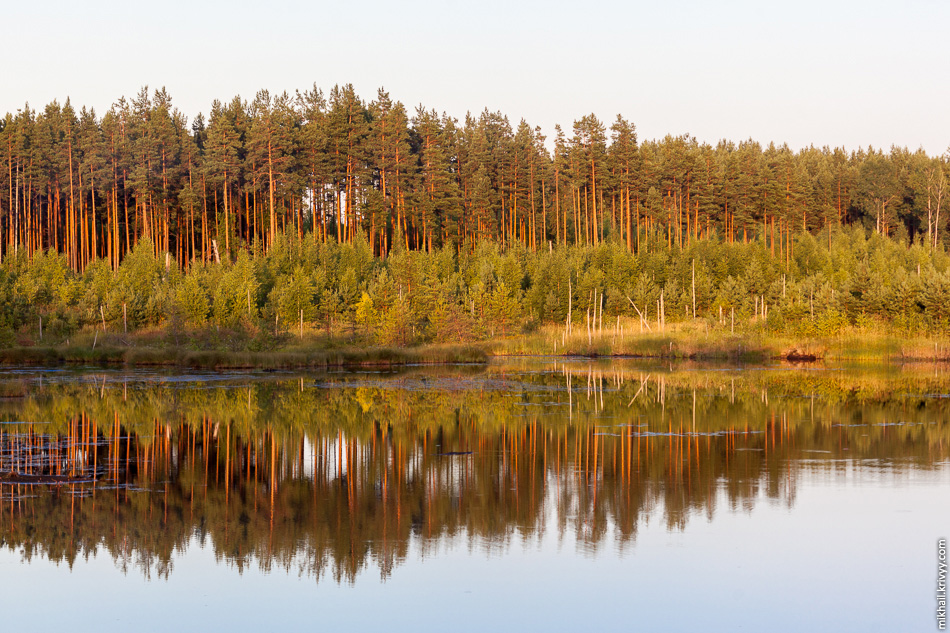4. Система озер Дубно - Съезжее - Клетно. Там черт ногу сломит где какое озеро.