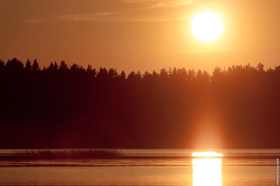 2. Традиционные фотографии с закатом.