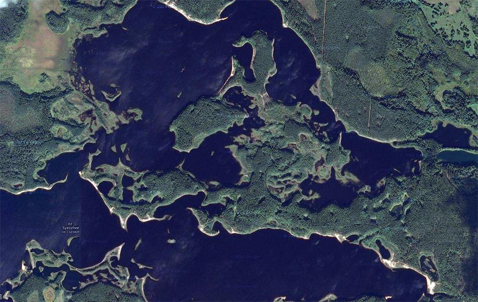 5. Вот так это выглядит со спутника. (c) Google Maps.