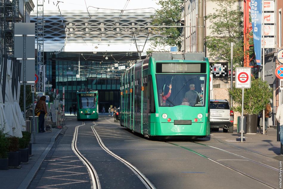 Трамваи в Базеле.