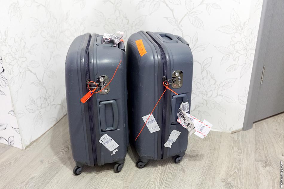 Два потерянных чемодана во время перелета Санкт-Петербург - Берн благополучно догнали нас уже после того как мы вернулись домой.