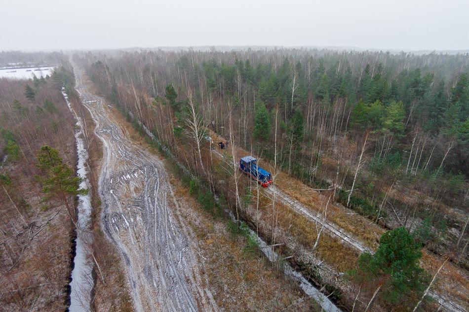 Тепловоз предназначен для выполнения грузовой работы на лесовозных, торфовозных и прочих узкоколейных железных дорогах СССР.