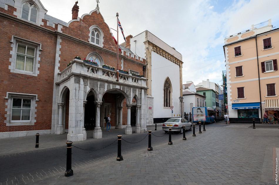 The Convent — официальная резиденция губернатора Гибралтара.