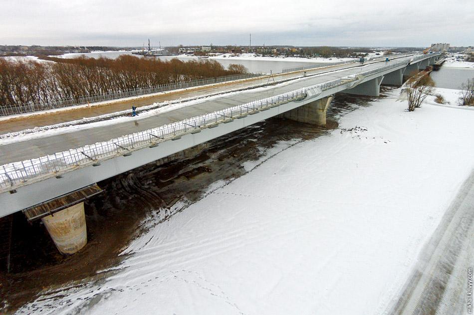 Деревяницкий мост. Январь 2015.