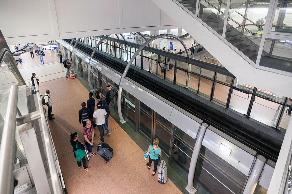 Автоматизированная линия 14. Вид сверху.