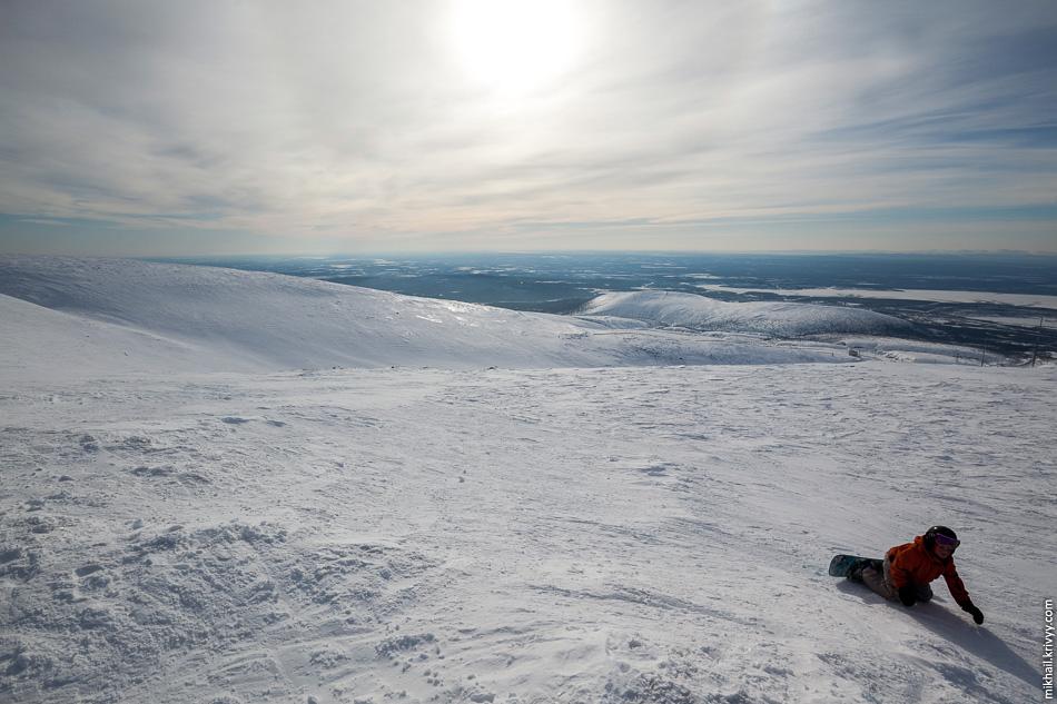 Гора Айкуайвенчорр. Вот так все выглядит, если снимать не на телеобъектив.