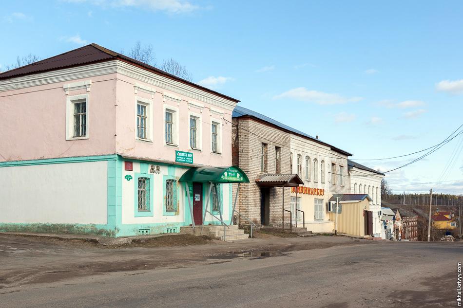 6. Купеческие дома в Лыкошино.