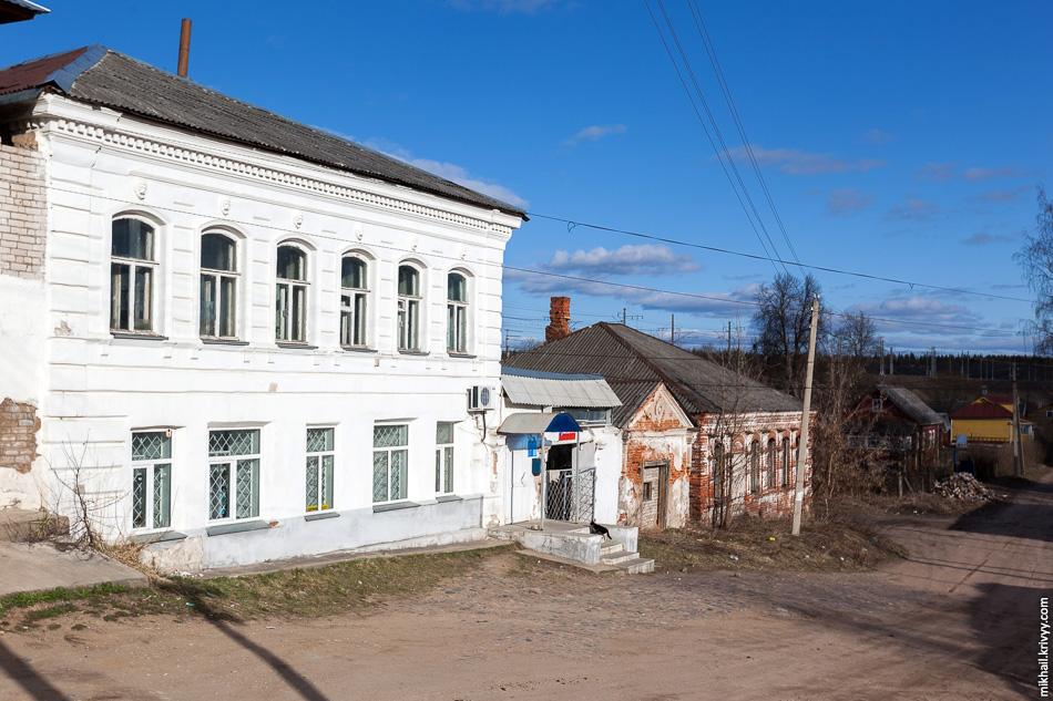1. Старые купеческие дома в поселке Лыкошино.