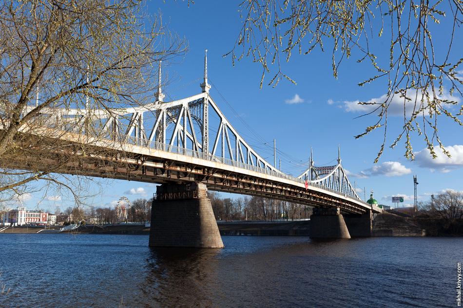 Староволжский мост в Твери.