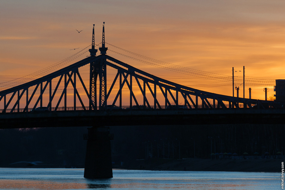 Староволжский мост, Тверь.